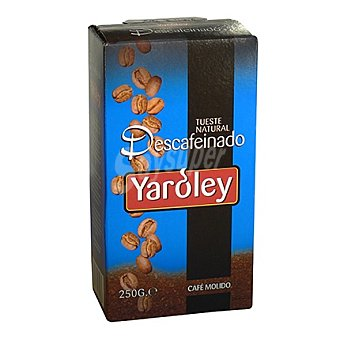 Yaroley Café molido natural descafeinado 250 g