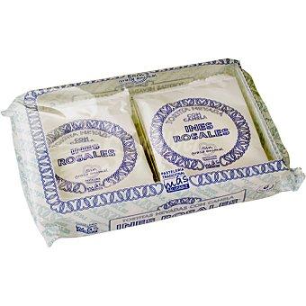 INES ROSALES tortita nevada con canela paquete 180 g 6 unidades
