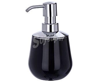 Wenko Dosificador de jabón, gel...modelo Mónaco color negro 1 Unidad