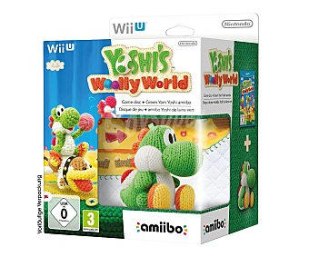 PLATAFORMAS Yoshi's Woolly+amiibo WU