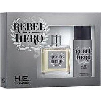 MANGO Colonia para hombre Hero frasco 100 ml