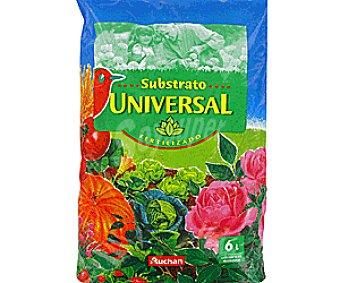 Auchan Sustrato universal 6 litros