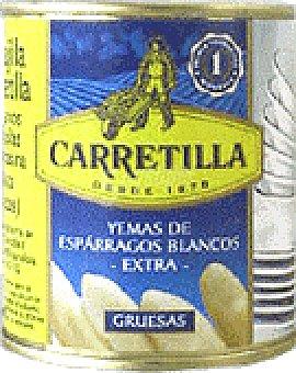 Carretilla Esparragos yemas cristal 115 GRS