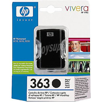 HP Nº363 cartucho color negro