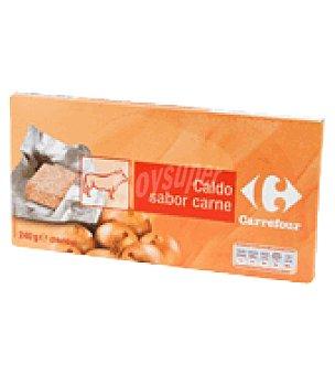 Carrefour Caldo de carne pastillas Pack de 24x10 g