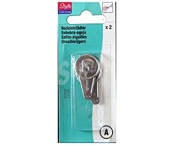 STYLE Enhebradores de agujas style Pack de 2
