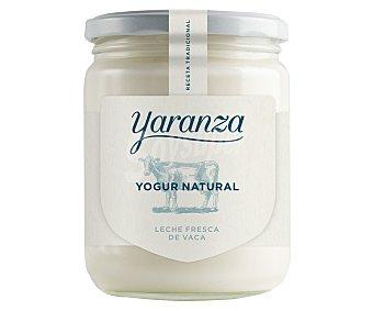 Yaranza Yogur natural elaborado artesanalmente con leche de vaca recien ordeñada de una única ganaderia leonesa 420 g