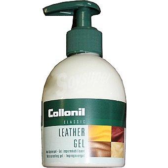 COLLONIL Crema nutritiva limpiadora de piel gel impermeabilizante dosificador 200 ml