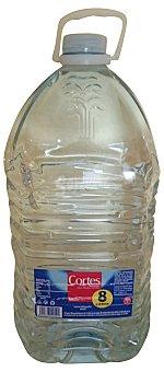 CORTES Agua mineral natural Garrafa de 8 l