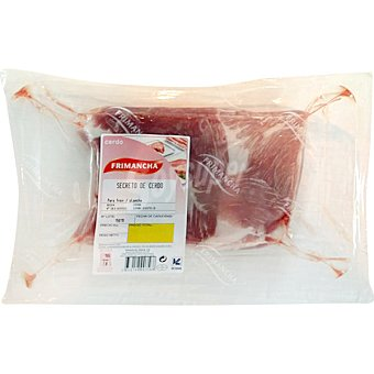 Frimancha Secreto de cerdo al vacio unidad 600 g peso aproximado Unidad 600 g