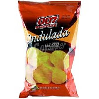 007 Snacks Patatas onduladas 100 % natural 130 g