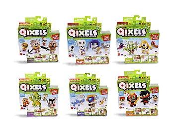 Qixels Juego de creatividad Qixels Temas con pequeños cubos para construir guerreros, esqueletos, monstruos.. 1 unidad