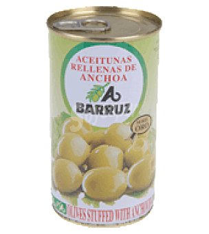 Barruz Aceituna manzanilla rellena de anchoas 150 g