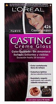 Casting Crème Gloss L'Oréal Paris Tinte Créme Gloss nº 426 Castaño rojizo 1 unidad