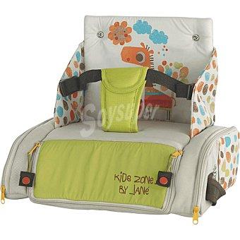 JANE Bolso trona multicolor con dibujo de jirafa y compartimentos exteriores