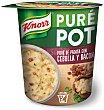 Knorr Puré Pot Puré de Patata con Cebolla y Bacon 59 g Knorr