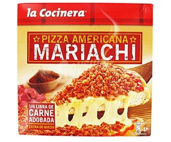 La Cocinera Pizza americana mariachi Caja 470 g