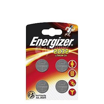 Energizer Pilas 2032 De Litio 4 ud