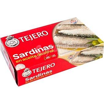 Tejero Sardinas en aceite de oliva Lata 84 g neto escurrido