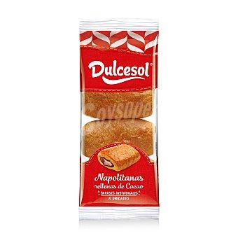 Dulcesol Napolitanas de chocolate Pack 8 u x 40 g - 320 g