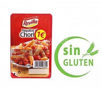 Revilla Taquitos de chorizo envase 80 g