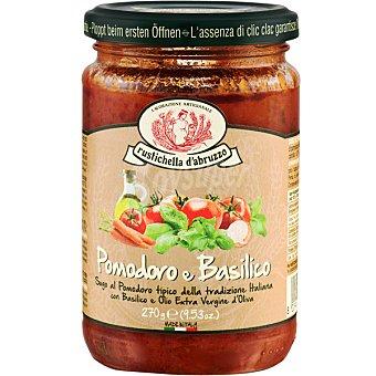 Rustichella D'Abruzzo Salsa pomodro al basilico italiana tarro 270 g tarro 270 g