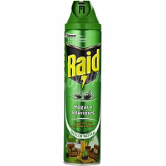 Raid Insecticida hogar-plantas Spray 600 ml