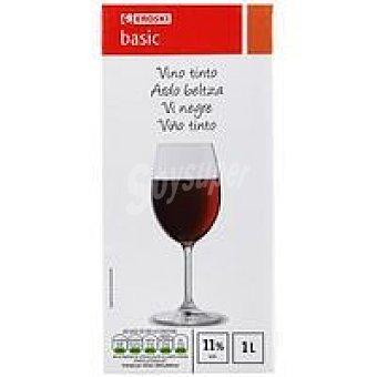 Eroski Basic Vino Tinto Brik 1 litro