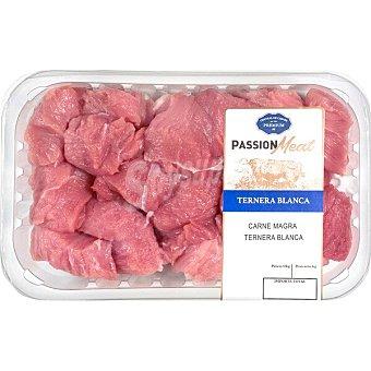Granja los tilos Ternera blanca carne magra troceada para guisar peso aproximado Bandeja 450 g