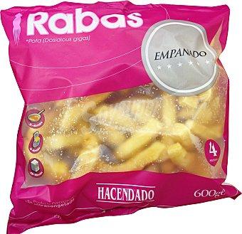 HACENDADO Rabas empanadas congeladas Paquete 600gr.