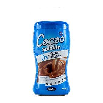 Caobon CACAO SOLUBLE 0% AZUCARES AÑADIDOS BOTE 450 g