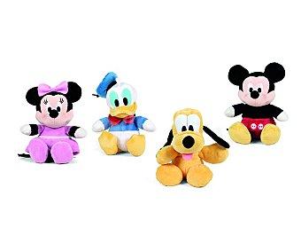 Disney Peluche blandito y colorido de Minnie Mouse, Mickey Mouse, Donald o Pluto 20 centímetros Peluche Flopsie 20cm