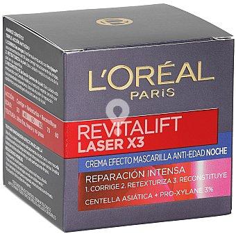 Revitalift laser X3 crema de noche antiarrugas intensiva