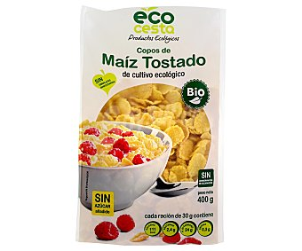 Ecocesta Copos de maiz tostado bio 400 g
