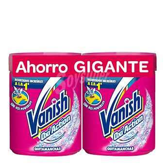 Vanish Quitamanchas Polvo Pack 2x1 kg