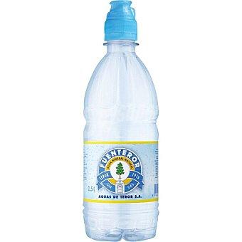 Fuenteror agua mineral natural con tapón sport botella  50 cl