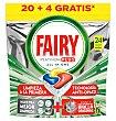 Lavavajillas 20+4 24 unidades Fairy Platinum