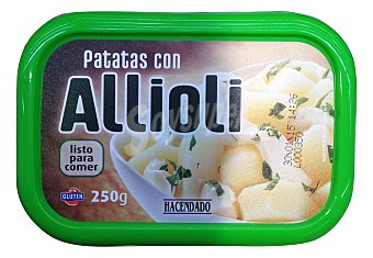 Hacendado Comida preparada patatas alioli refrigeradas Tarrina 250 g