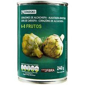 Eroski Alcachofa 6/8 frutos Lata 240 g