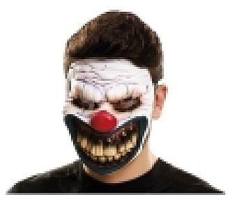 MY OTHER ME Complemento para disfraz Halloween, máscara de Payaso Maligno 1 unidad