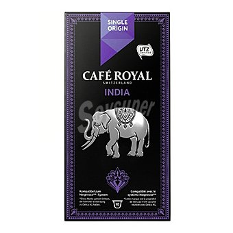 Royal Cápsulas de café original India 10 ud
