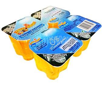 YELLIFRUT Gelatina de limón 4 unidades de 115 gramos