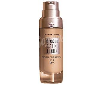 Maybelline New York Base de maquillaje con sérum hidratante tono 045 Miel Dream satin liquid
