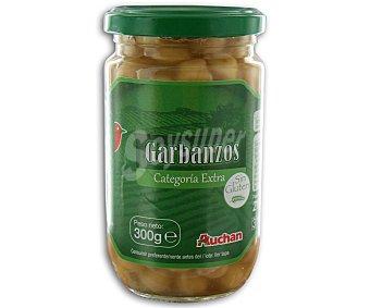 Auchan Garbanzos cocidos 215 gramos