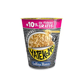 Yatekomo Gallina Blanca Fideos orientales 60 gramos