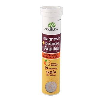 Aquilea Magnesio + Potasio en comprimidos efervescentes 14 ud