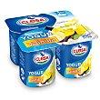 Yogur sabor vainilla Pack 4 unidades 125 gr Clesa