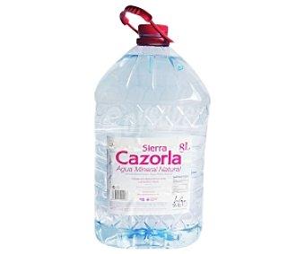 Sierra Cazorla Agua Mineral sin Gas 8 Litros