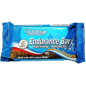 VICTORY ENDURANCE Barrita energética baja en grasa sabor frutas tropicales Envase 85 g