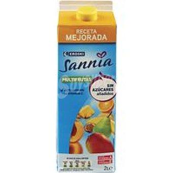 Eroski Sannia Néctar multifrutas sin azúcar Brik 2 litros